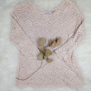 Eight Eight Eight open knit sweater